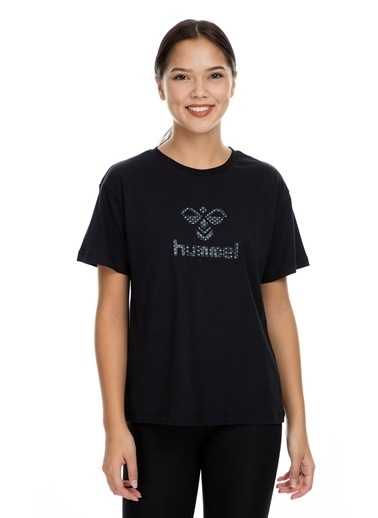 Hummel Kadın Tişört Wally 910833-2001 Siyah